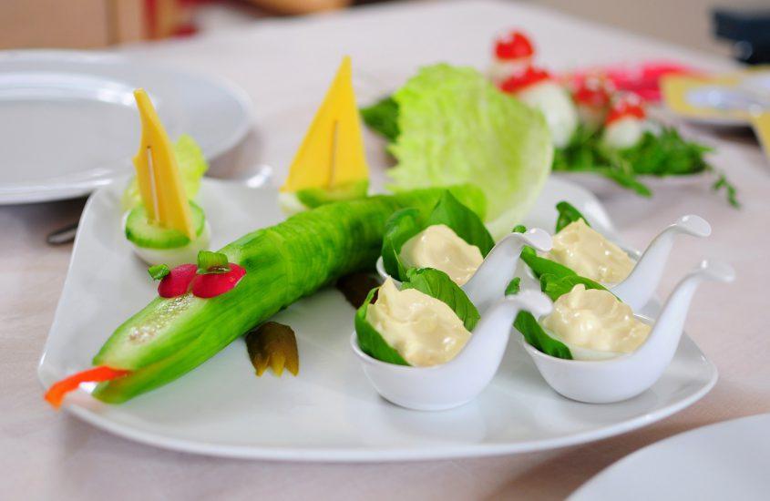 kreatywne potrawy dla dzieci