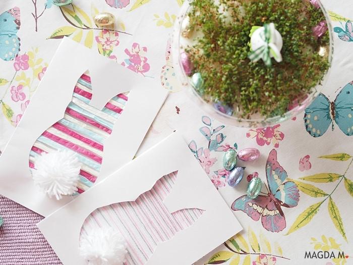 Wielkanocna kartka DIY – czyli co można zrobić ze sznurka