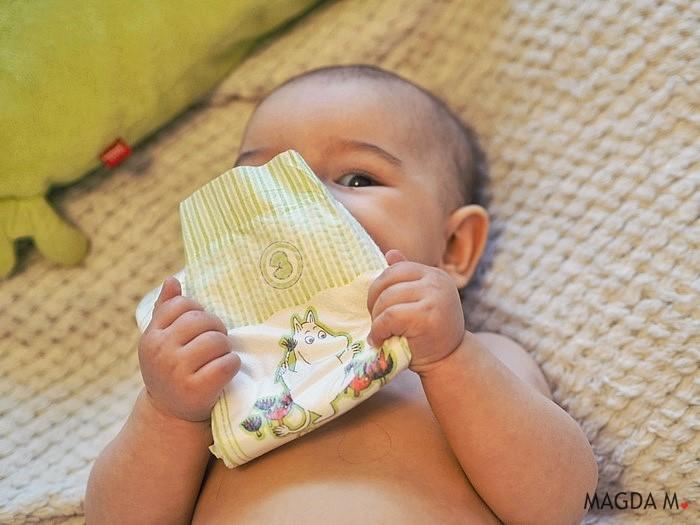 Pieluszki Muumi Baby – dla wrażliwej skóry dziecka