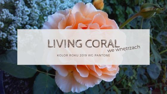 Living coral – najmodniejszy kolor roku we wnętrzach