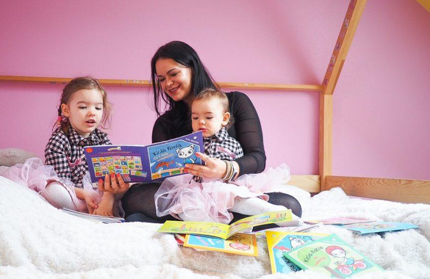 Idealna książeczka dla rodzeństwa z niewielką różnicą wieku – Kicia Kocia