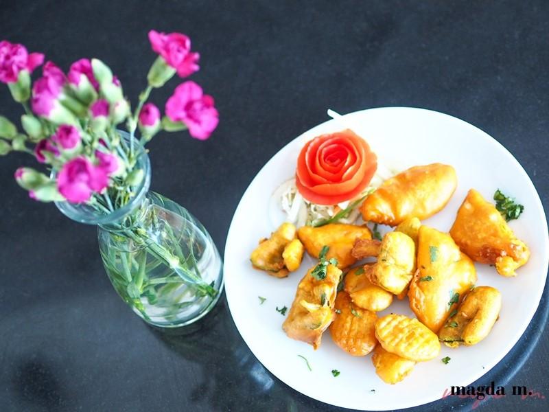 golden palace panierowane warzywa