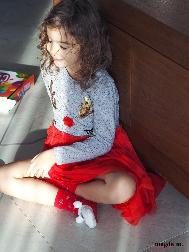 Sukienka renifer pepco