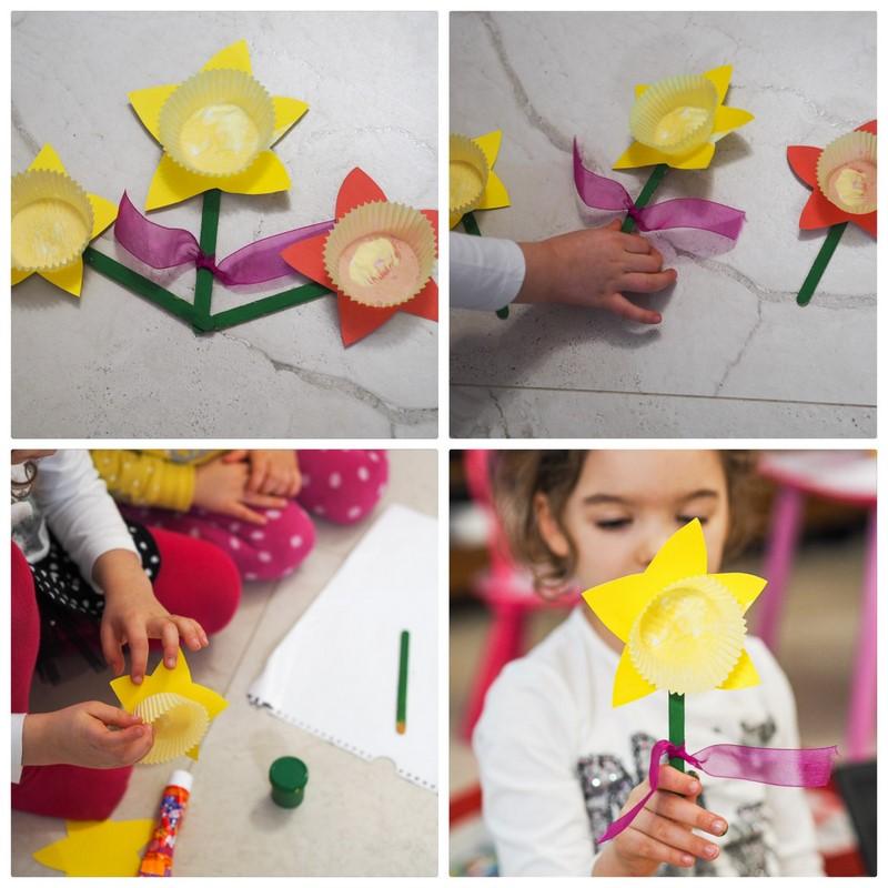 prace plastyczne z dzieckiem marzec
