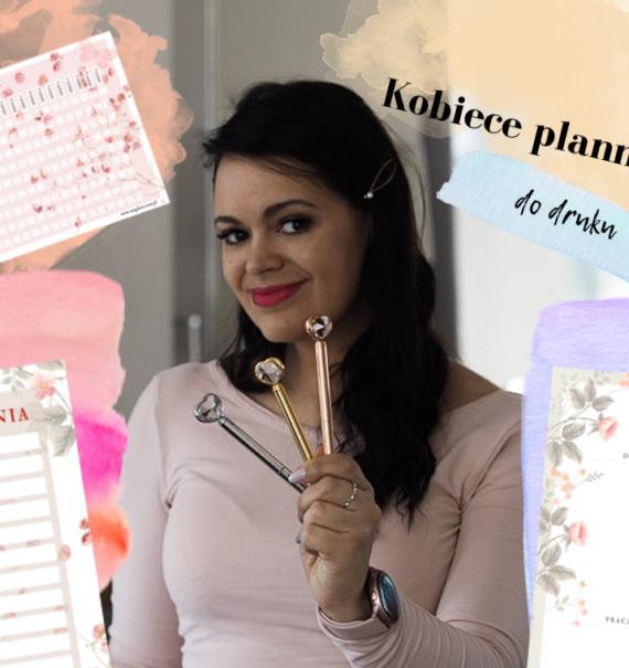 kobiece plannery do druku