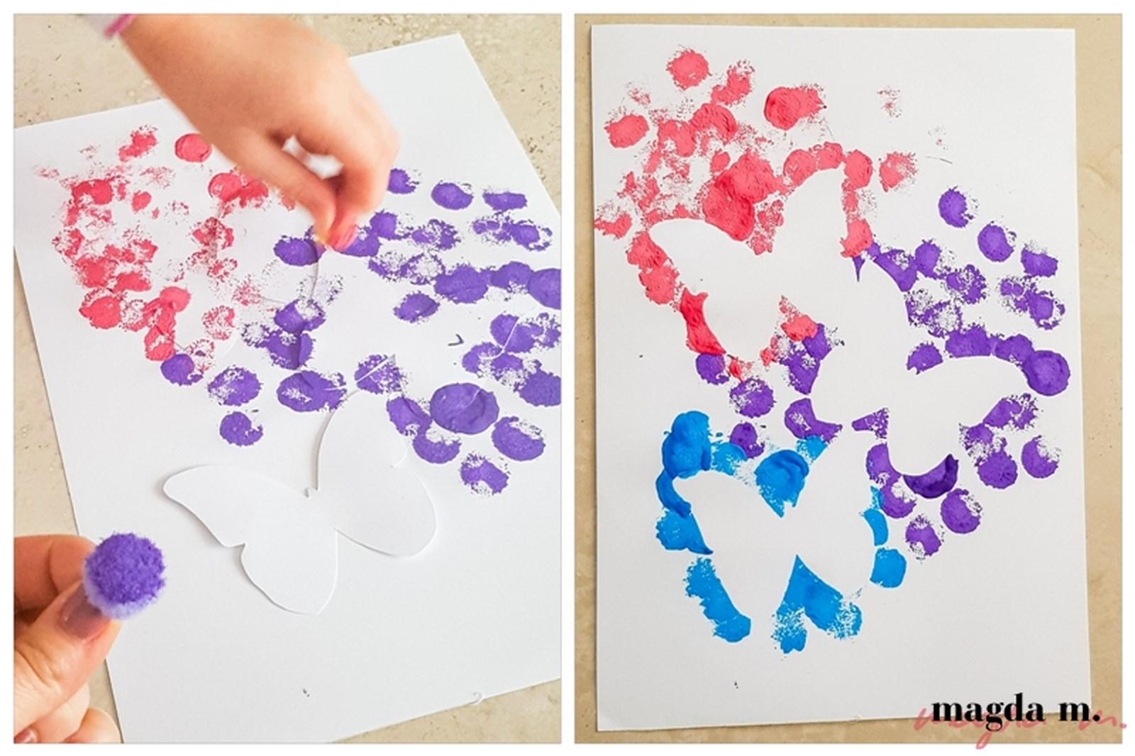 prace plastyczne dla dzieci maj